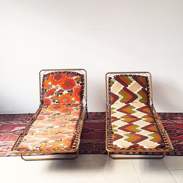 70s Camping Lounge Chairs