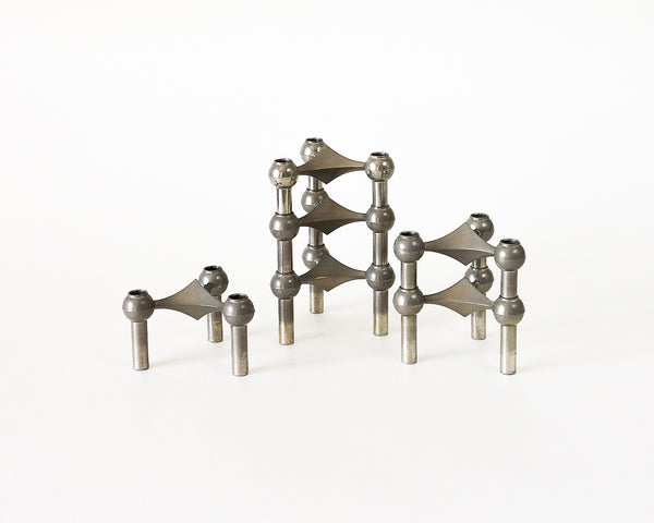 § BMF Nagel Modular Candle Holder Set