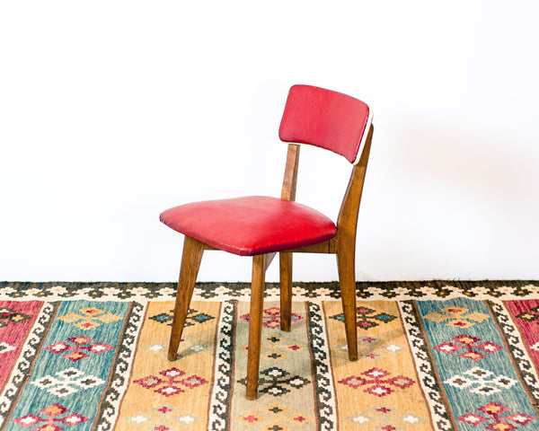 Retro Red Vintage Chair