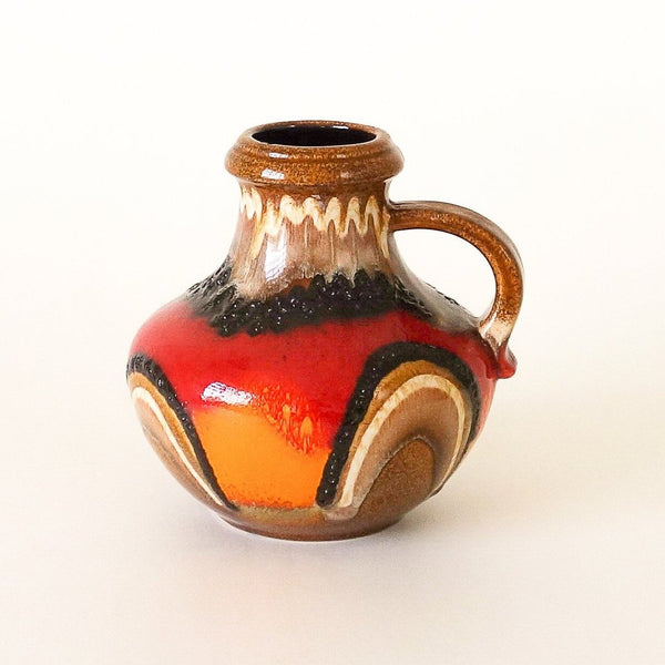 Scheurich Retro Fat Lava Vase 423-18 West Germany