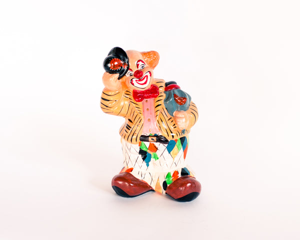 Creepy Clown Ceramic Figurine
