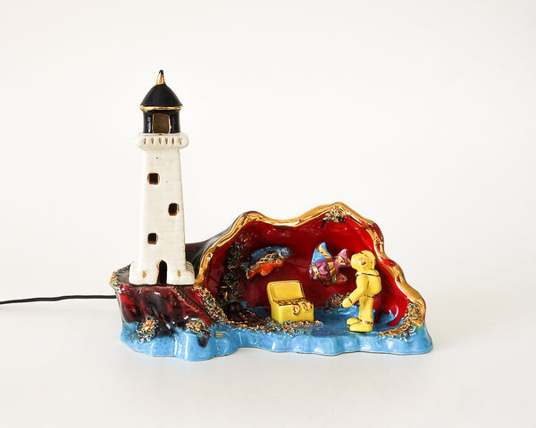 § Vallauris Lighthouse Night Light