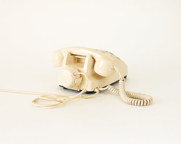 §Vintage Retro Cream Telephone