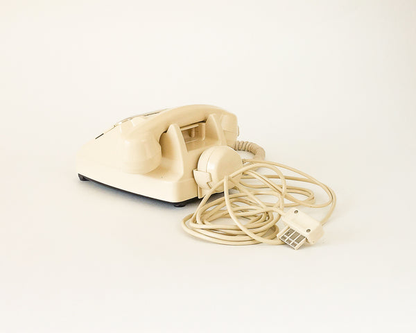 Vintage Retro Cream Telephone