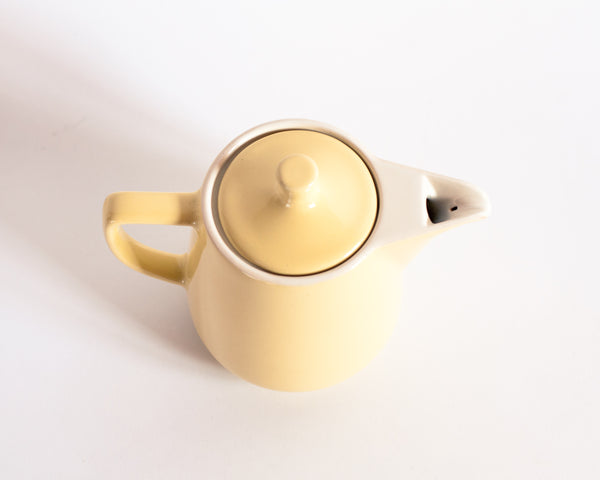 Yellow Melitta Coffee Pot