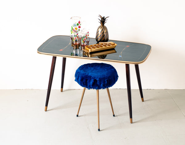 § Retro 1950's Geometric Decor Coffee Table