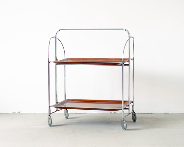 §Vintage Gerlinol Foldable Bar Cart