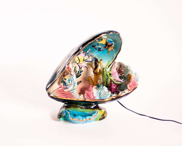 RESERVED Vallauris Shell Night Light