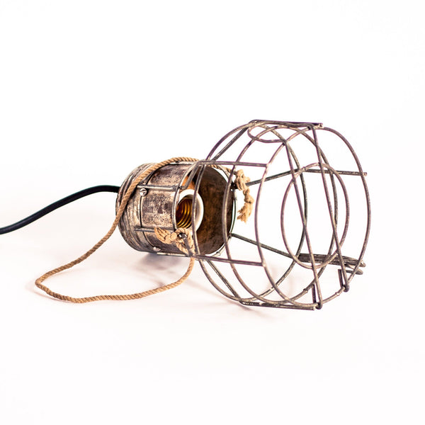 Industrial Workshop Cage Lamp