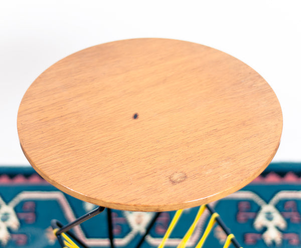 § Modernist Magazine Rack / End Table - Round