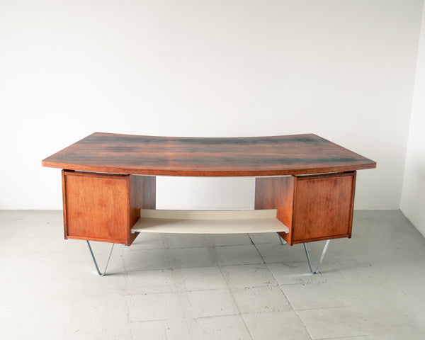 Curved Rosewood Desk