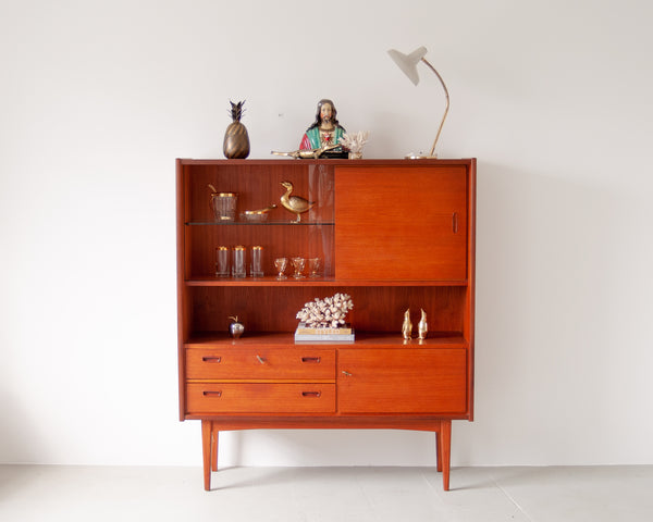 RESERVED Mid-century Bartels Highboard - Danish style