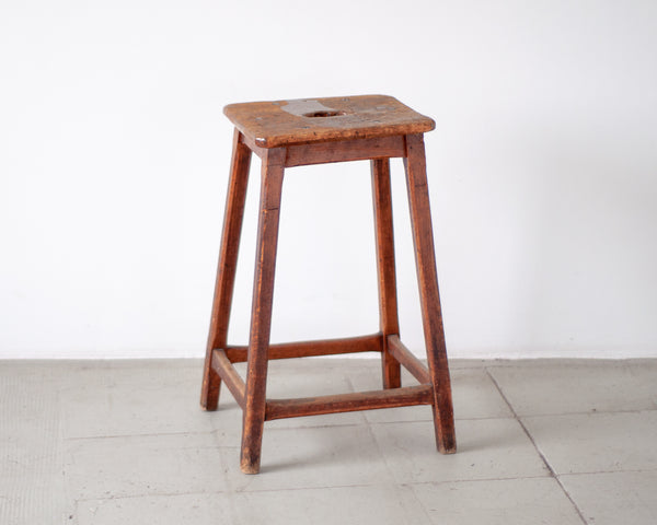 Antique Drawing Table and stool