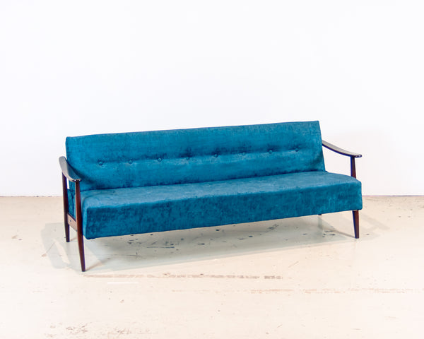 1960's Scandinavian Sofa (new upholstery)