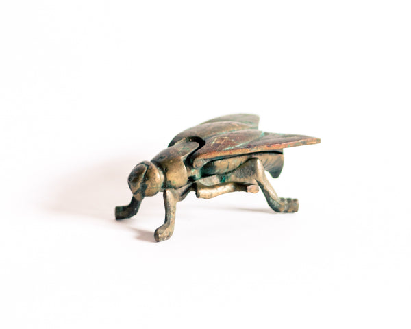 § Vintage Brass Fly (2 available)