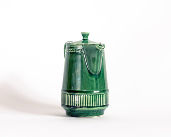 § Melitta West Germany Vintage Green Tea Pot