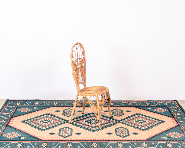 Bohemian Peacock Side Chair