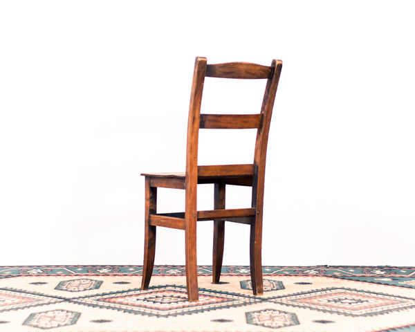 Antique Wooden Side / Kitchen Chair