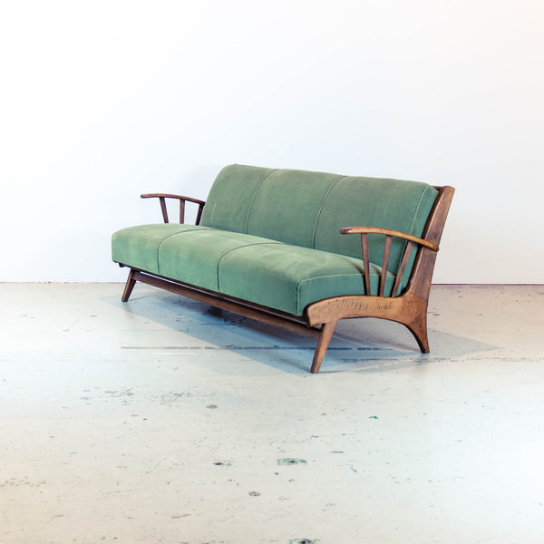 Oddhaus Vintage Furniture Luxembourg - 50s convertible sofa