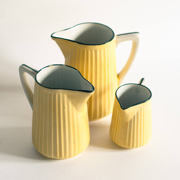 § French Country Farmhouse Pitcher Set