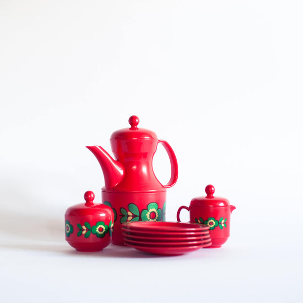 § Retro 70s Emsa Plastic Tea Set