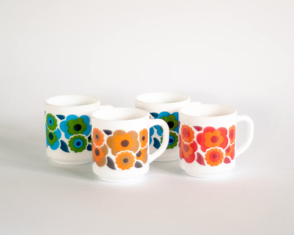 § Arcopal Lotus Flower Power Mugs