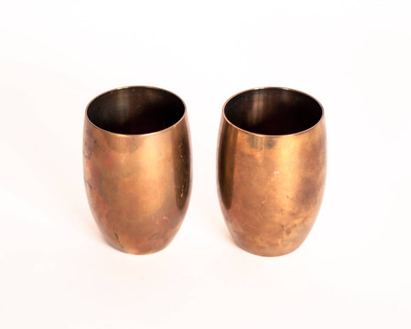 § Brass Moscow Mule Cups- set of 2