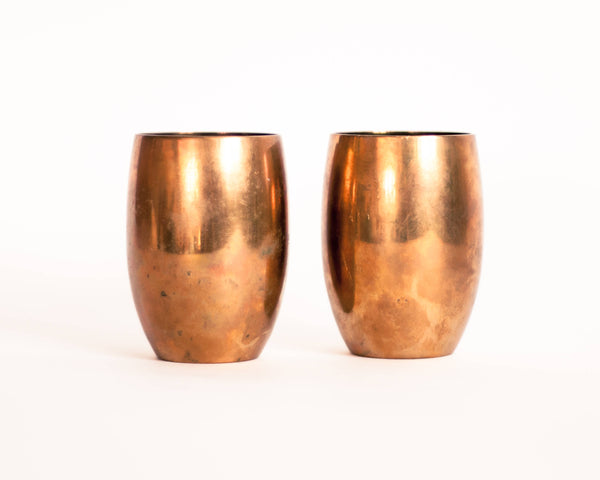 Brass Moscow Mule Cups- set of 2