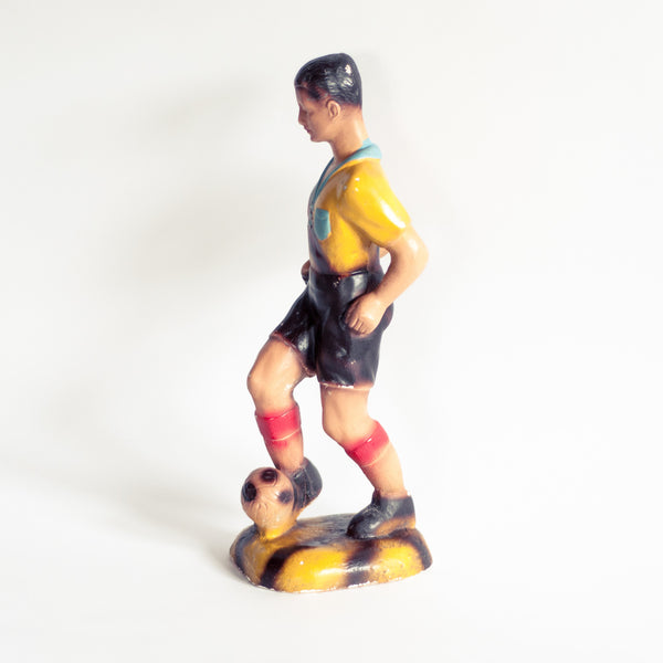 Oddhaus Vintage Luxembourg 30s Vintage Football Statue