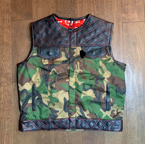 DOUBLE DIAMOND VEST