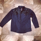 RAW DENIM Quilted Jacket