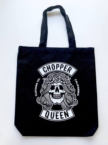 CHOPPER QUEEN canvas bag
