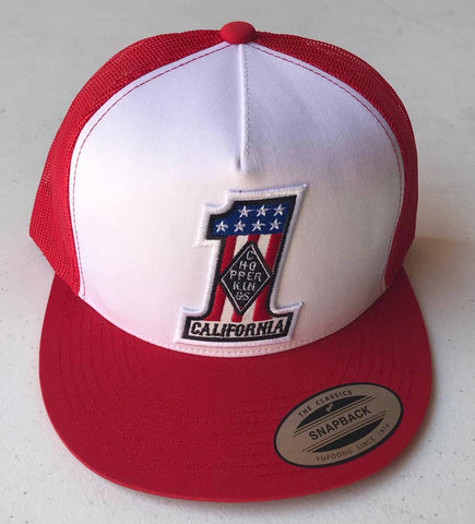 1 FLAG trucker hat