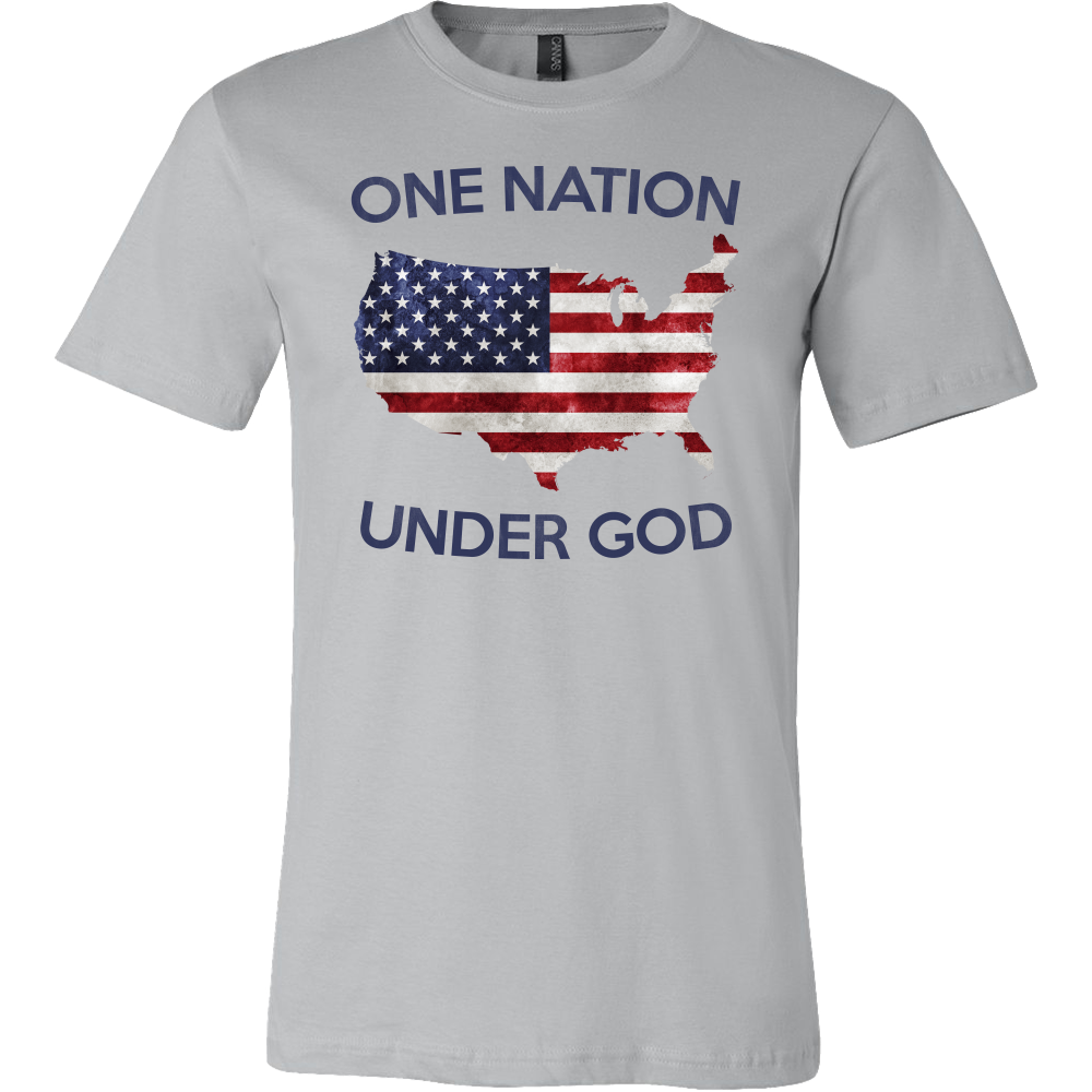 0ade7a0d4 One Nation Under God T-Shirt – Full Patriot