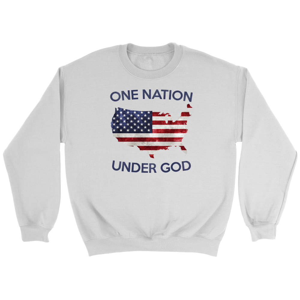 a28ad41a7 One Nation Under God Hoodie and Long Sleeve – Full Patriot