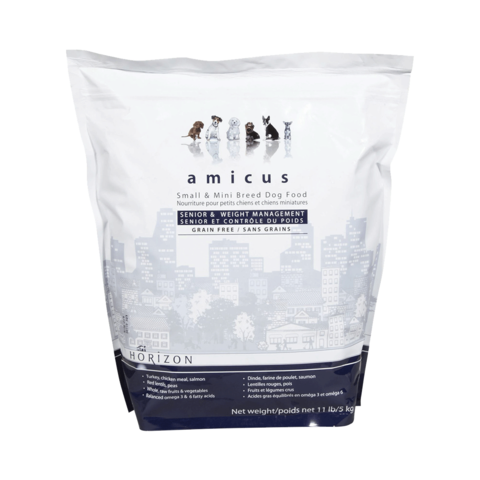 Amicus Small Breed Grain Free Senior Dry Dog Food