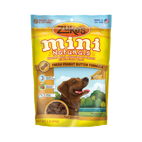 Mini Naturals Fresh Peanut Butter Formula Treats