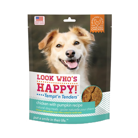 Look Who's Happy! Chicken & Pumpkin Dog Treats