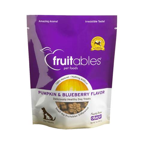 Fruitables Pumpkin & Blueberry Flavour Dog Treats