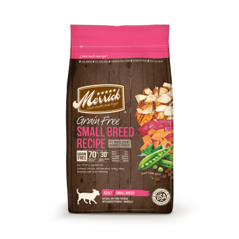 Merrick Grain Free Small Breed Recipe Dry Dog Food
