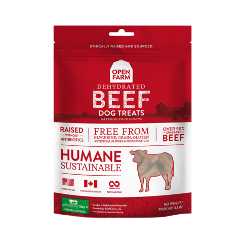 Open Farm Dehydrated Grain Free Beef Treats