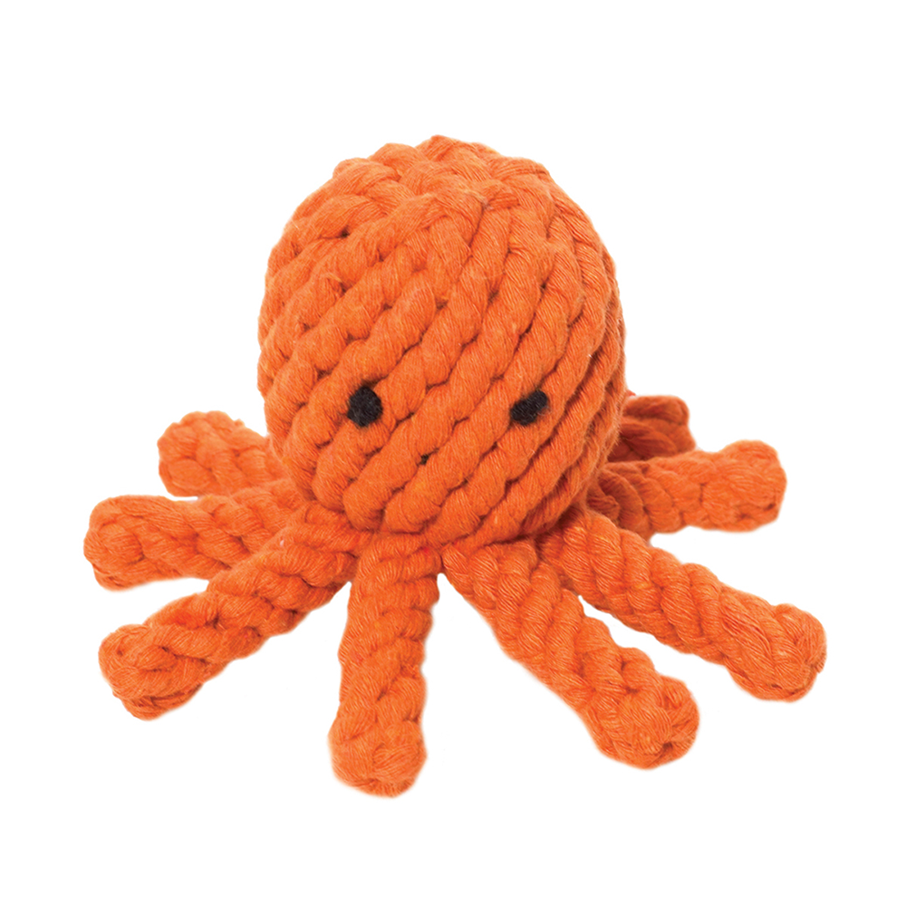 Jax & Bones: Octopus Rope Toy