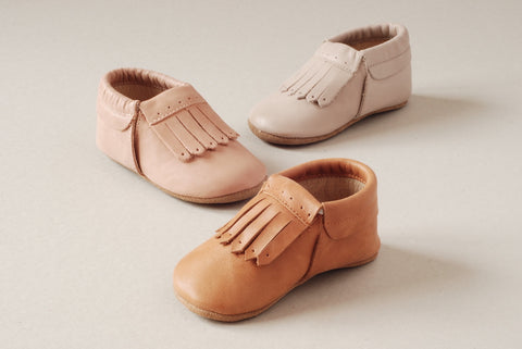 Kit & Kate soft sole leather baby shoes in Perth Western Australia - Gotta love em!