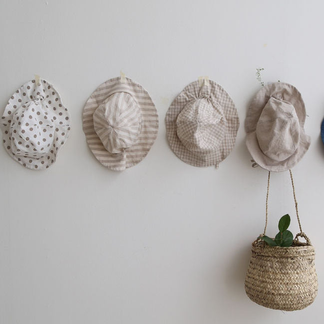 Cotton Baby Hats for Little Kids and Toddlers