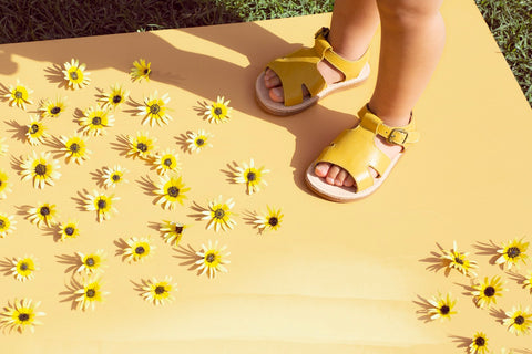 Genuine leather sandals for babies, first walkers, toddlers and children to have fun in all summer