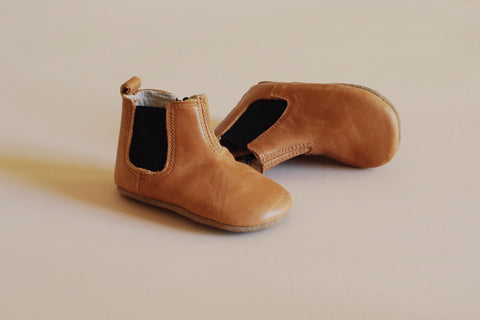 Luca Baby Boots for Toddlers - Soft Soles, Real Leather, Designed in Australia by Kit & Kate