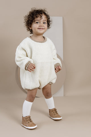 Funky baby boots for toddlers and children aged 1 and 2 years old by Kit & Kate