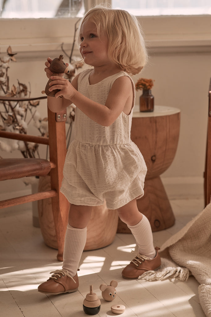 Oxford Children's Shoes made from natural leather #1