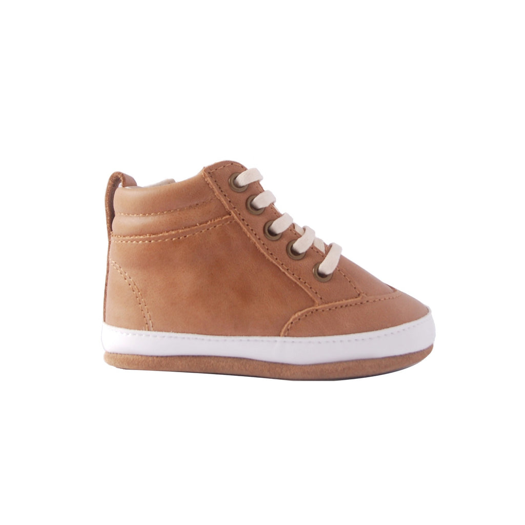 Brooklyn Baby High Top Sneakers Brown