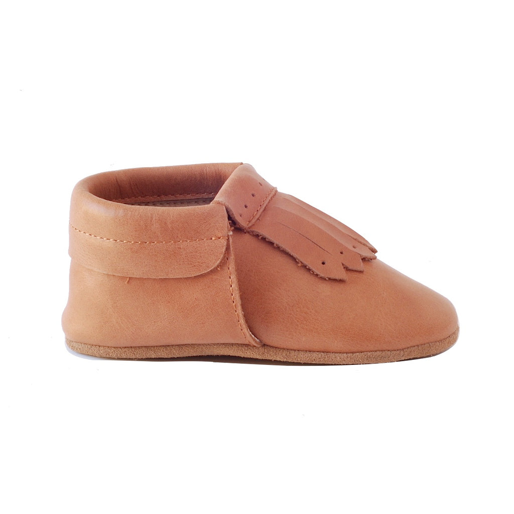 Baby Loafers Not Moccasins in Real Leather with Soft Soles by Kit & Kate